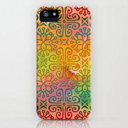 DP050-6 Colorful Moroccan pattern iPhone Case