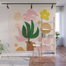 Abstraction_Sunny_Beautiful_Day_Minimalism_001 Wall Mural