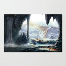 Winter Nature VIII Canvas Print