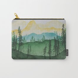 Mountains and Trees Carry-All Pouch