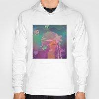 mermaid Hoodies featuring Mermaid by Graphic Tabby