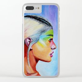 Sweet Ariana Clear iPhone Case