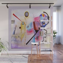 inspiration from Kandinsky . artwork Wall Mural