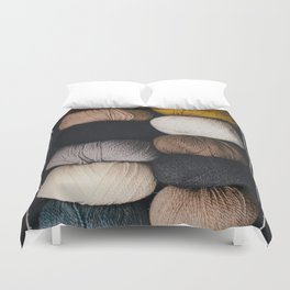 Warm Fuzzy Knits Duvet Cover