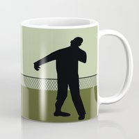 the walking dead Mugs featuring Walking Dead by Drix Design
