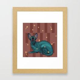 Sphynx Framed Art Print