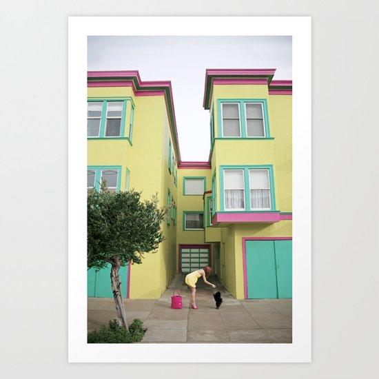 """Doggy Treat"" Art Print"