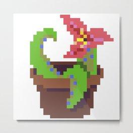 Tentacle Plant Metal Print