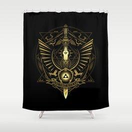 Zelda Sword Shower Curtain