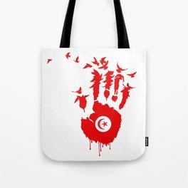 Tunisian Revolution Tote Bag