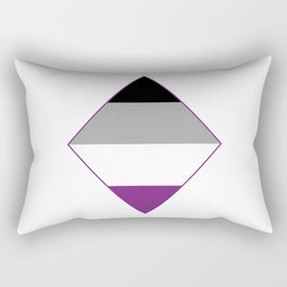Asexual Diamond Rectangular Pillow