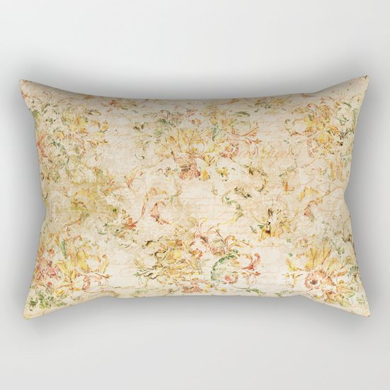 Vintage Sunflower #2 Rectangular Pillow