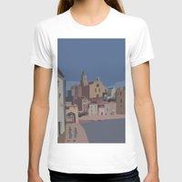 salvador dali T-shirts featuring PORT ALGUER - SALVADOR DALI by Agustin Flowalistik