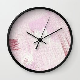 Blush Pink Wall Clock
