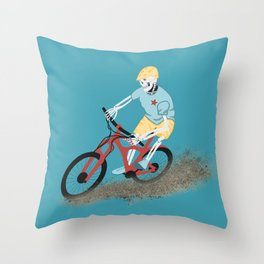 Gnarly Charlie Throw Pillow