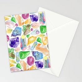 Crystals & Stones Stationery Cards