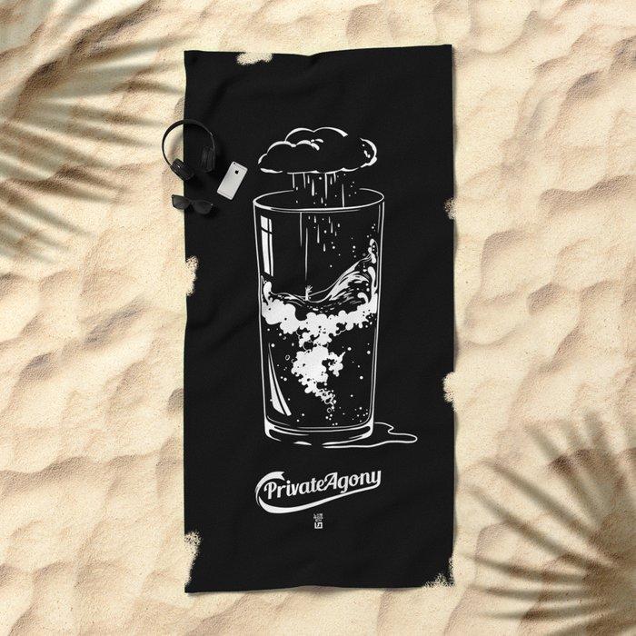 Private Agony Beach Towel