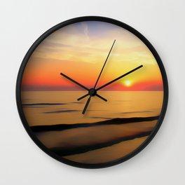 Perfect Night Wall Clock