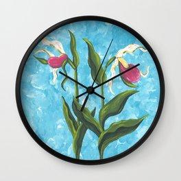 Lady Slipper 2 Wall Clock