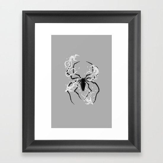 Disintegrate Framed Art Print