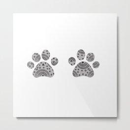 paws print Metal Print