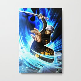 Trafalgar Law - one piece Metal Print