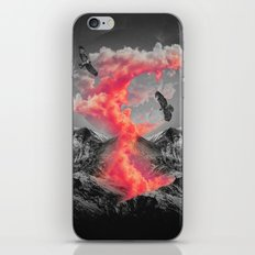 Burn Brighter In the Dark iPhone & iPod Skin