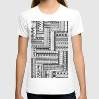 tribal T-shirts featuring Tribal  by Ale Ibanez