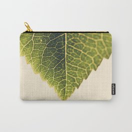 green leaf abstract Carry-All Pouch
