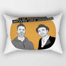 I'M BRINGING MOVES LIKE JAGGER! Rectangular Pillow