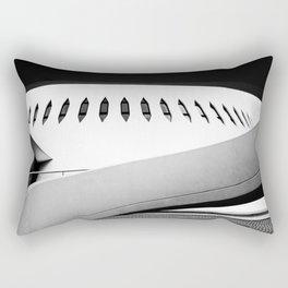 Le Havre   Niemeyer architect   Le Volcan Rectangular Pillow