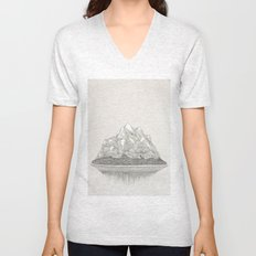 The Mountains and the Woods Unisex V-Neck