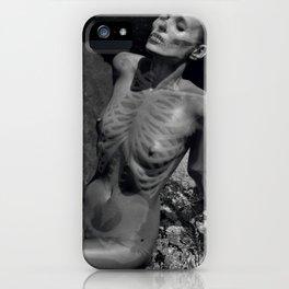 Skeleton Kate Moss iPhone Case