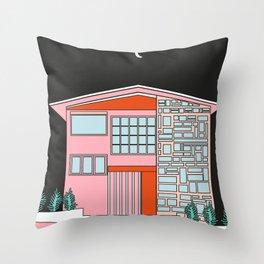 Casas vacías Throw Pillow
