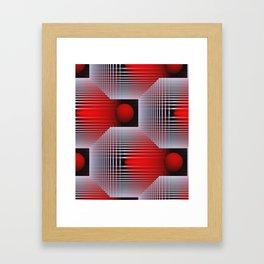 3D - abstraction -50- Framed Art Print