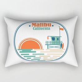 Malibu, California Rectangular Pillow