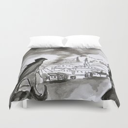 Chronicles of Assassins Duvet Cover