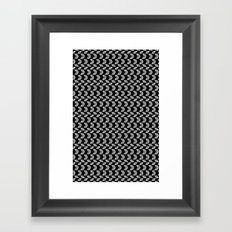 Drawn Triangles 01 Framed Art Print