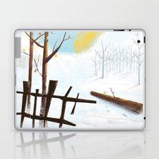 sun and snow Laptop & iPad Skin