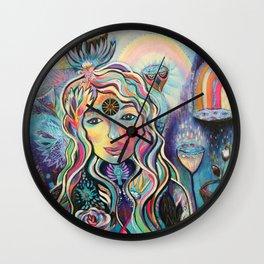 Celestial Dreaming Wall Clock