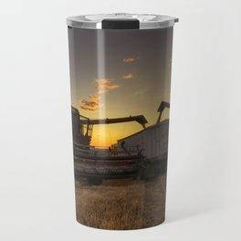 Golden Hour Grain Travel Mug