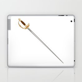 French Infantry Officer Sword Laptop & iPad Skin