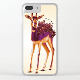 Dama Gazelle Clear iPhone Case