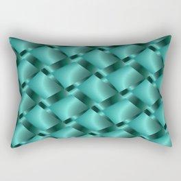 Aqua Mist Pattern  Rectangular Pillow