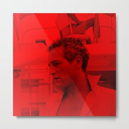 Paul Newman - Celebrity (Photographic Art) Metal Print