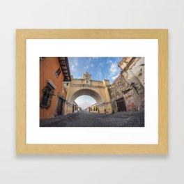 Arco de Santa Catalina, Antigua Guatemala Framed Art Print