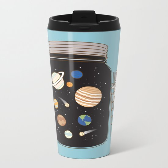 confined space Metal Travel Mug