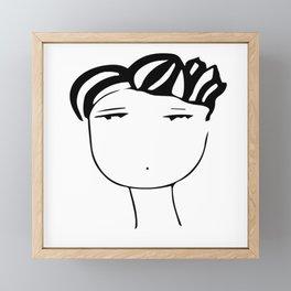 Fashion boy  Framed Mini Art Print