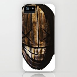 Smiling jack face iPhone Case