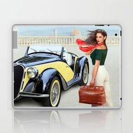 "Art Deco Bella ""ragazza"", Beautiful girl Laptop & iPad Skin"